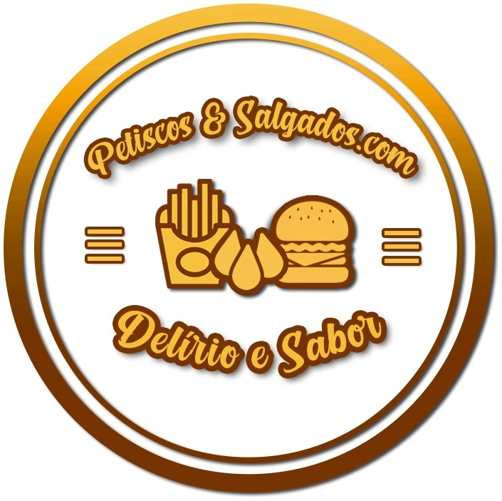 Logotipo do comércio Petiscos & Salgados.com